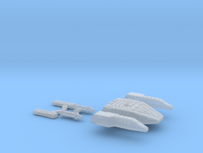 3125 Scale Lyran Cave Jaguar War Dreadnought Kit in Smooth Fine Detail Plastic
