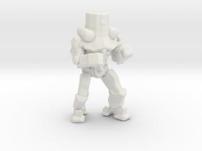 Pacific Rim Cherno Alpha Jaeger Miniature gamesRPG in White Natural Versatile Plastic