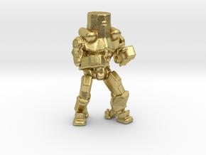 Pacific Rim Cherno Alpha Jaeger Miniature gamesRPG in Natural Brass