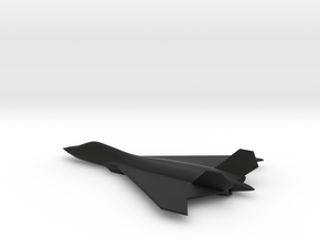 BAE Systems Tempest 6th Generation Fighter in Black Natural Versatile Plastic: 1:200