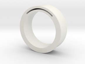 simpleband_nfc_rfid_ring9.5 in White Natural Versatile Plastic