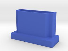 HDMI Port Cover in Blue Processed Versatile Plastic