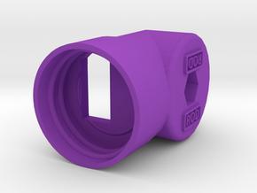 PET Mount GEN4 in Purple Processed Versatile Plastic