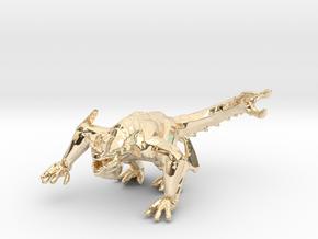 Pacific Rim Otachi kaiju monster miniature gameRPG in 14k Gold Plated Brass