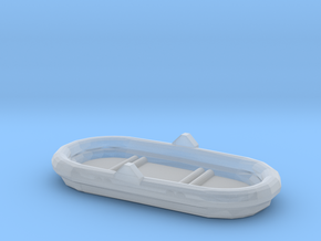 1/87 Scale 4 Person Inflatable Raft Mk 2 USN in Smooth Fine Detail Plastic