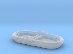 1/96 Scale 7 Person Inflatable Raft Mk 2 USN in Smooth Fine Detail Plastic