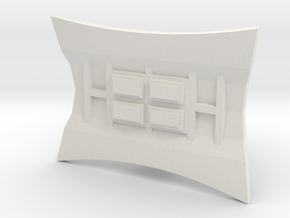 FC-TFA Legacy Dish Mod in White Natural Versatile Plastic