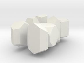 7 systems, 5 cm. in White Natural Versatile Plastic