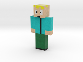 AtomPlayerSlayer | Minecraft toy in Natural Full Color Sandstone