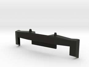 lc 70 bumper in Black Natural Versatile Plastic: 1:10