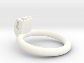 Cherry Keeper Ring - 47mm Flat +8° in White Processed Versatile Plastic