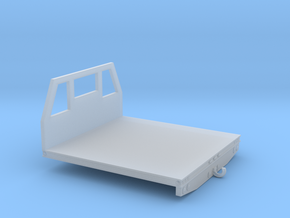 1/87th Utility type flatbed, 8' wide in Smooth Fine Detail Plastic