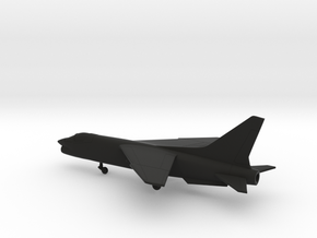 Vought F-8 Crusader in Black Natural Versatile Plastic: 1:200