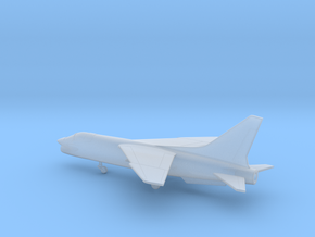 Vought F-8 Crusader in Smooth Fine Detail Plastic: 6mm