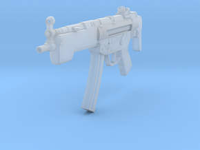 MP-5A3 in Smooth Fine Detail Plastic: Small