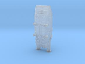 BSG Colonial Shuttle mk1 in Smoothest Fine Detail Plastic: 1:400
