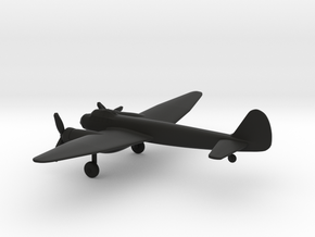 Junkers Ju 88 A-4 in Black Natural Versatile Plastic: 1:200