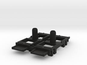 EFiab liitevaunun telin tukirunko in Black Natural Versatile Plastic