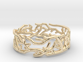 Ring - Rooted Collection in 14K Yellow Gold: 4.5 / 47.75