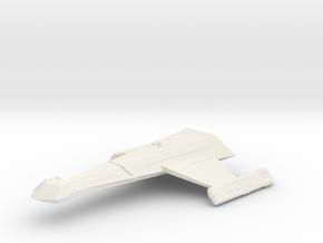 Klingon K23 in White Natural Versatile Plastic
