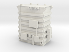'HO Scale' - Transformer - 15' high in White Natural Versatile Plastic