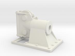 AF 38 Anchor Fairlead - 1:50 in White Natural Versatile Plastic