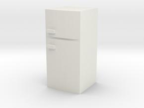 Fridge 1/24 in White Natural Versatile Plastic