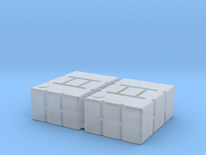 1:78 Refueling Boxes in Smooth Fine Detail Plastic