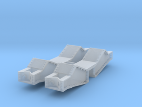 Type40_Bolster_1-48 in Smooth Fine Detail Plastic