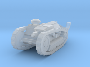 Ford 3t Tank 1/200 in Smooth Fine Detail Plastic