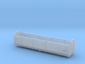 RNAD High Sided Wagon Body and Frames in Smooth Fine Detail Plastic