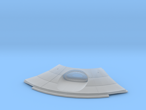 1:537 Reliant Lower Saucer Deflector in Smooth Fine Detail Plastic