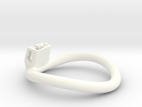 Cherry Keeper Ring - 60mm -12° in White Processed Versatile Plastic