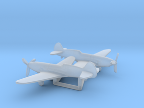 Curtiss YP-37 in Smooth Fine Detail Plastic: 1:285 - 6mm