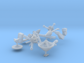 Ascent stage details in Smoothest Fine Detail Plastic