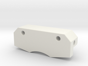 RA Printer Cap in White Natural Versatile Plastic