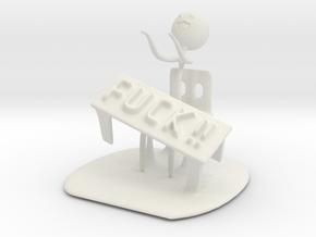 Meme flip a table in White Natural Versatile Plastic