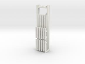 36X120 & 96 Beam Kit 1-87 HO Scale in White Natural Versatile Plastic