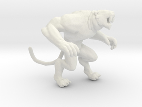 Primal Rage Slash Fang kaiju monster miniature gam in White Natural Versatile Plastic