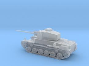 1/144 IJA Type 3 Chi-Nu Medium Tank Long Barrel in Smooth Fine Detail Plastic