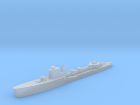 Italian Clio torpedo boat 1:1800 WW2 in Smoothest Fine Detail Plastic