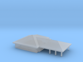 1:700 Scale Neighborhood Bank in Smooth Fine Detail Plastic