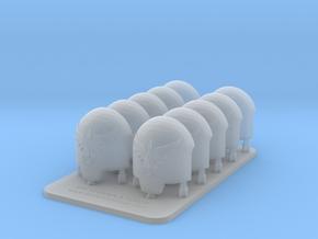 Bran Del Sangre Terminus Indominus Smooth Shoulder in Smooth Fine Detail Plastic