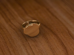Pikabu Classical Ring 14k gold 7size in 14K Yellow Gold