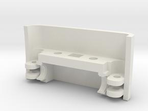 Skullcandy crusher wireless hinge - outside part in White Natural Versatile Plastic