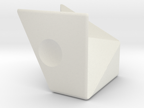 ReCube Coordinate Motion in White Natural Versatile Plastic