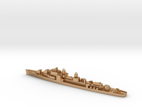 USS Henley destroyer 1:1800 post WW2 in Natural Bronze