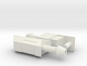 TFtM Ratchet pistols in White Natural Versatile Plastic