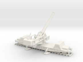 bl 9.2 mk 10 1/160 railway gun  in White Natural Versatile Plastic