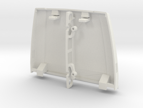Type S Hood and Grille for Micro Shark in White Natural Versatile Plastic